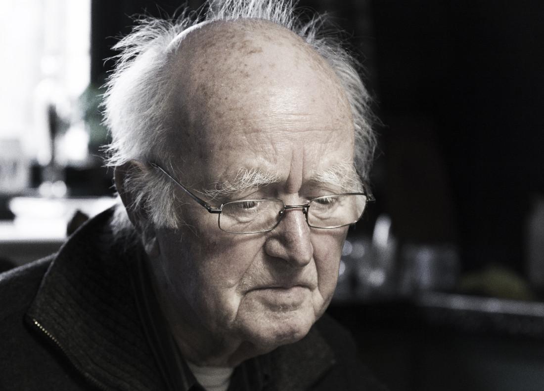 """video still Henk Peeters - 'Life's Work' 2009 - 2013 (photograph Henk young © Truus Nienhuis)  """"Finally recognition... They're also talking to the Pompidou. It's taken one of my works on spec.""""  """"Eindelijk komt dan de erkenning... Nu zijn ze met Centre Beauburg ook bezig. Die hebben er al eentje op zicht genomen."""""""