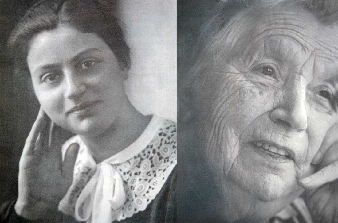 Mrs Galama * 11 - 05 - 1913  † 29 - 01 - 2010On the left26 years old, on the right 96 years oldFormer occupation: Hotel manager