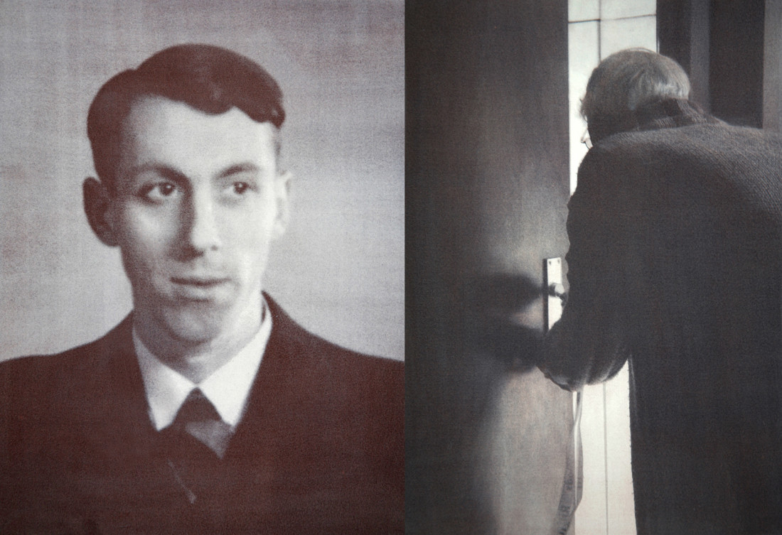 Mr Willems * 21 - 03 - 1911  † 06 - 04 - 2006On the left 22 years old, on the right 95 years oldFormer occupation: Purchasing officer V&D