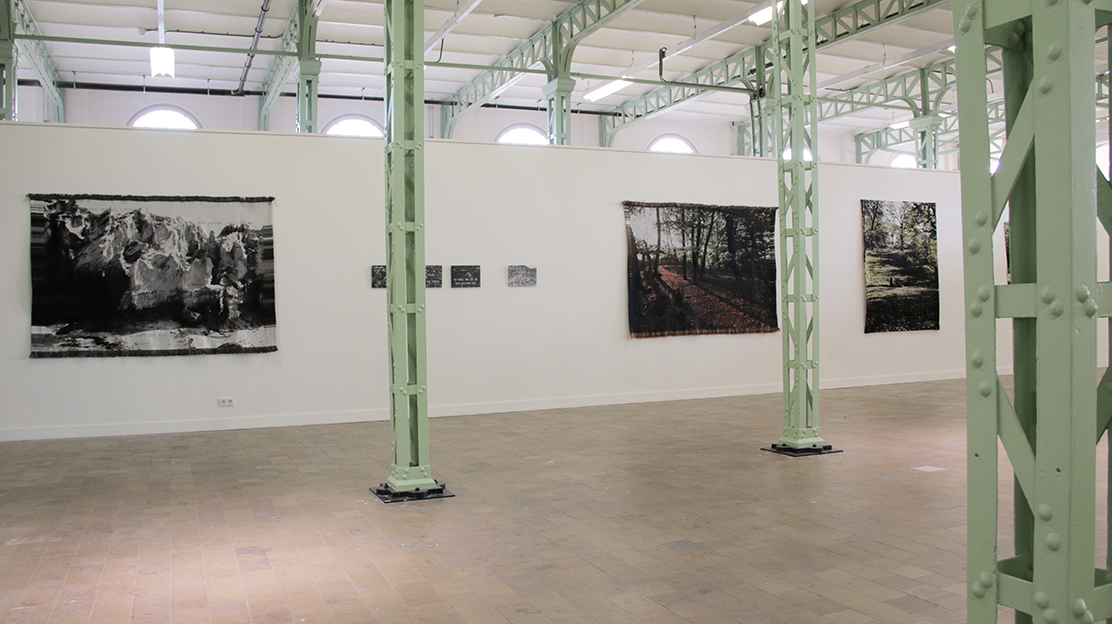 'Wall Hangings' in Willem II Fabriek 's-Hertogenbosch October 2015